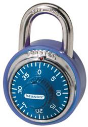 Master Lock No. 1506 Coloured Dial Combination Lock