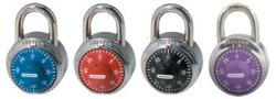 Master Lock No.1505 Coloured Dial Combination Padlocks