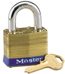 Master Lock No.24 Series Laminated Brass Padlock
