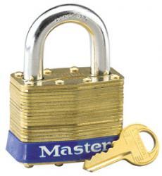 Master Lock No.6 Series Laminated Brass Padlock