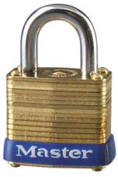 Master Lock No.8 Series Laminated Brass Padlock