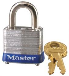 Master Lock No.7 Series Laminated Steel Padlocks