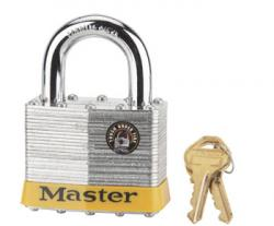 Master Lock No.15 Series Laminated Steel Padlock