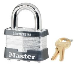 Master Lock No.25 Series Commercial Laminated Steel Padlock