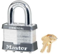 Master Lock No.27 Series Commercial Laminated Steel Padlock