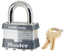 Master Lock No.81 Series Commercial Laminated Steel Padlocks