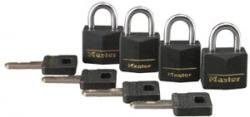 Master Lock 121 Series Covered Solid Brass Padlocks