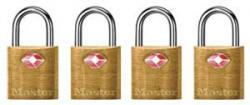 Master Lock 4683 Series TSA Accepted Brass Keyed Locks