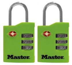 Master Lock 4684 Series TSA Accepted \'Set Your Own Combination\' Locks