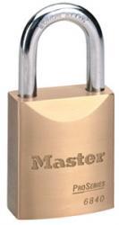 Master Lock 6840 Series Solid Brass Padlock