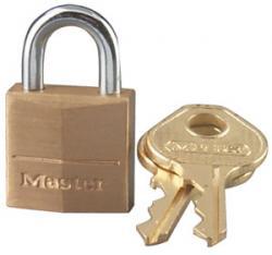 Master Lock 120 Series Solid Brass Padlock