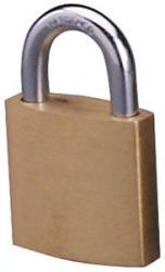 Master Lock 4120 Economy Series Brass Padlock