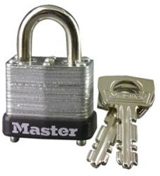 Master Lock 10 Series Warded Laminated Steel Padlock