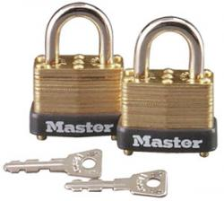 Master Lock 12 Series Warded Laminated Steel Padlock