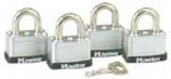 Master Lock 3009 Warded Laminated Steel Padlock
